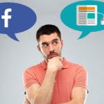 Um blog ou uma página no Facebook? Eis a questão!